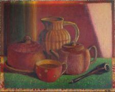 Peintures du XXe siècle et contemporaines sur panneau nature morte