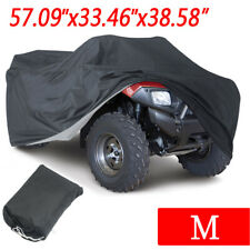 M Atv Cover Waterproof Sun Rain Dust Heat Resistant All Weather Protection w/Bag