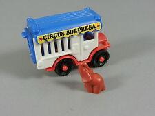 COCHES: Circo Sorpresa - Jaula coche con Elefante (marrón)