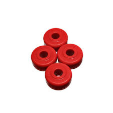 Energy Suspension Strut Rod Bushing Kit 16.7102R; Red Polyurethane
