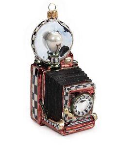 MacKenzie-Childs Glass Ornament - MY SELFIE  - New in Box
