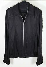 Helmut Lang Silky Cupro Zip Shirt Jacket Size Small Brand New