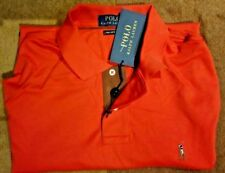 Polo Ralph Lauren Pima Cotton Long Sleeve Polo Shirt XL  -  $135.00