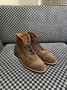 Alden x Brick & Mortar • 9.5D Grant Last • Marvments Boot • Snuff Suede