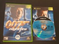 007 Nightfire : Original Xbox Video Game - Instruction Manual Included