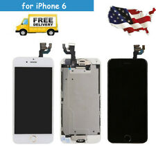 for iPhone 6 LCD Screen Touch Assembly Full Replacement Home Button 4 Connectors