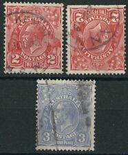 Royalty Used Postage Australian Stamps