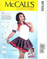 McCalls Sewing Pattern Leotard Cosplay Costume 14 16 18 20 22 Yaya Han 7455