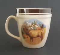 Folkcraft Stoneware Bugling Elk Mug by Scotty Z Cabela's