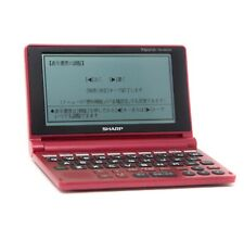 Sharp Papyrus Electronic Dictionary Pw-Am700-R Red Used Read Bio Pw Am700
