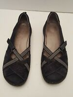 Jambu women's shoes Hayley Size 9.5 M Mary Janes Leather Black