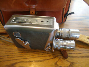 Vintage Keystone Olympic K38 8mm Movie Camera - Made in USA