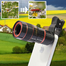 HD 12X Zoom Teleskop Kamera Objektiv Linse für Universal Handy iPhone Samsung