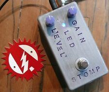 BYOC MOSFET Boost Guitar Effects Pedal Alchemy Audio Assembled!