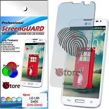 4 Film Matt for LG L90 D405 L 90 save Screen Antiglare Anti-fingerprint