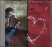 Frederique Spigt-Het Bloeden Van Jouw Hart Promo cd single