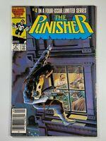 Punisher #4 First Limited Series 1986 Marvel Comics