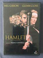DVD HAMLET Mel Gibson Glenn Close Alan Bates Paul Scofield FRANCO ZEFFIRELLI