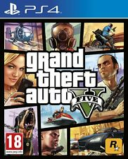 Gioco Sony Playstation PS 4 Grand Theft Auto GTA V 5 Five cinque