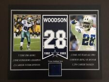 DARREN WOODSON DALLAS COWBOYS OLD TEXAS STADIUM SEAT 8 X 10 COA