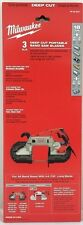 Milwaukee 48-39-0521 Standard/Deep Cut Band Saw Blade 44-7/8 in. 18 tpi. 3 pack