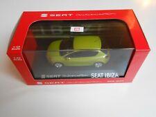 COCHE SEAT IBIZA 5 PUERTAS AMARILLO CITRUS 1/43 1:43 IXO MODEL CAR MIB LIMON