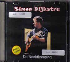 Simon Dijkstra-De Naaktcamping Promo cd single
