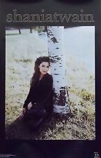 Music Poster~Shania Twain Come On Over Aspen Tree Birch Country Pop Queen Hot!~
