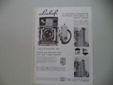 advertising Pubblicità 1967 LINHOF TECHNIKA 70