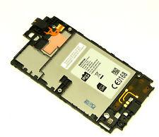 Original Nokia Lumia 520 Display LCD Touchscreen Rahmen Front Frame Bezel Mittal