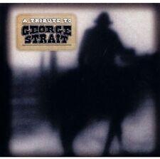 TRIBUTE TO GEORGE STRAIT  CD NEUF
