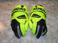 New listing Adidas Performance EQT Berserker G Lacrosse Goalie Gloves Black Neon size 12