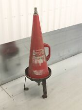 More details for vintage minimax conical / cone fire extinguisher & floor stand - collection only