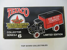 Texaco 1925 Mack Bulldog Lubricant Truck Coin Bank #6 New In Box Stk. 9040V0