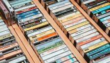 CASSETTE TAPES LOT ROCK JAZZ 80'S 90'S NEW WAVE METAL VG+ CHEAP SHIPPING