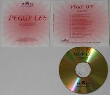 Peggy Lee  Classics  BMG Music Publishing  U.S. promo cd
