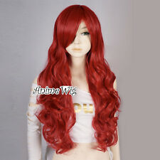 The Little Mermaid Ariel Curly Red 70CM Long Party Women Anime Cosplay Full Wig