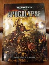 Warhammer 40k Apocalypse 2012 6th Edition Hardcover