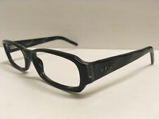 Vintage Versace 3072 Designer Eyeglass Frame Glass Women Men Gray Black Marble