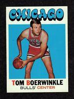 1971-72 Topps #15 Tom Boerwinkle Chicago Bulls DP Basketball Card NM+