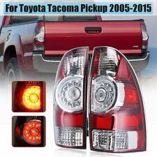 Pair Left+Right LED Rear Tail Light Brake Lamp For Toyota Tacoma Pickup 2005-15