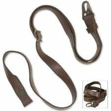 Heckler & Koch Hk Original German Factory Leather Rifle Sling H&K Used Surplus
