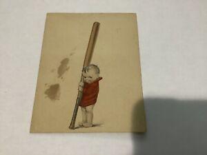 Vintage Baseball advertising piece. Promoting Clothing Store.