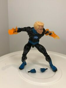 Marvel Legends Human Torch NO Super Skrull BAF Lot Fantastic 4 Four X-Men Avenge