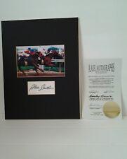 Steve Cauthen Triple Crown 1978 Autographed Picture COA