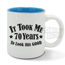 IT TOOK ME 70 years to look this good mug cup, 70th birthday, vintage year 1947