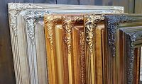 Traditional compo ornate wood frames,custom picture frames, various colors,