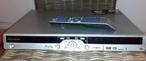 Pioneer DVD Recorder DVR-433H-S  80GB hard drive HDD inc 2 scart & new remote