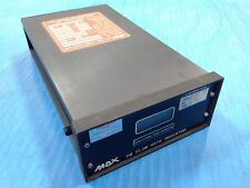USED MAX MACHINERY 118-105 MAX FLOW INDICATOR FLOW RANGE .01 TO 5GPM (S4)