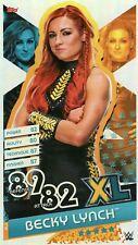XL5 Becky Lynch XL Karte 2020 - Slam Attax Reloaded 2020